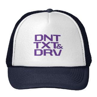 DNT TXT & DRV TRUCKER HAT