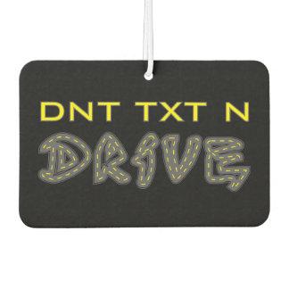 DNT TXT N Drive Air Freshener