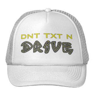 DNT TXT N Drive Hat