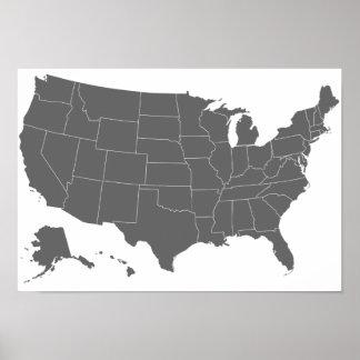 Do50.US Basic Map Poster