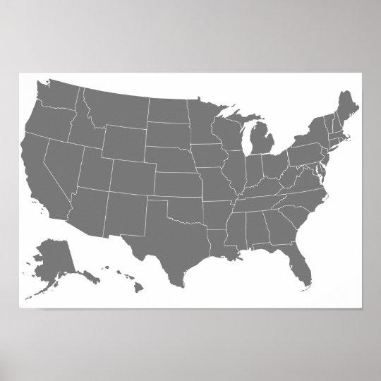 Basic Us Map - Minnesota on us map