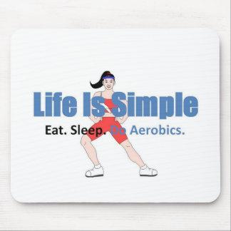 Do Aerobics Mouse Pad