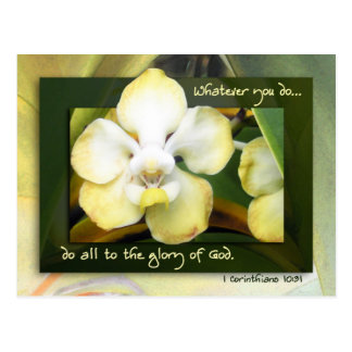 Do All to the Glory of God Postcard