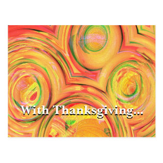 Do all with thanksgiving Colossians 3:17 Postcard