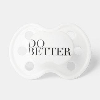 do better pacifier