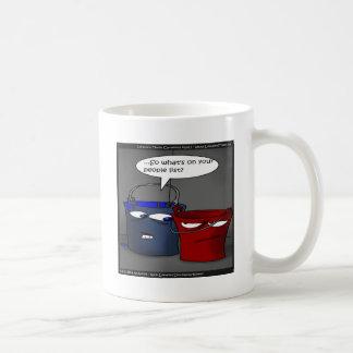 Do Buckets Have A People List? Funny Gifts & Tees Coffee Mug