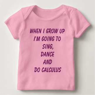 Do Calculus - Girl Power baby tee