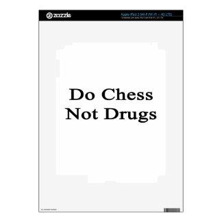 Do Chess Not Drugs iPad 3 Skin