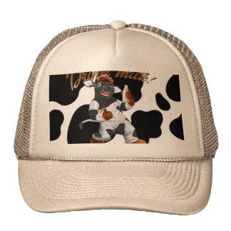 Do Cows Drink Milk Cow With Milk Bottle Trucker Hat