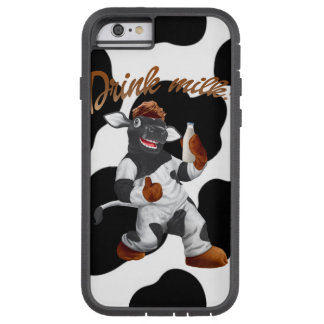 Do Cows Drink Milk Cow With Milk Bottle Tough Xtreme iPhone 6 Case