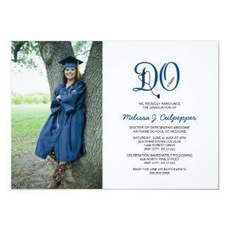 DO Doctor of Osteopathic Medicine graduation Card