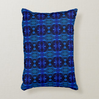 """Do forms, """"blue traces float"""" in blue fund? accent pillow"""