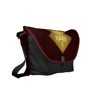 DO (gold)(diamond) Messenger Bag