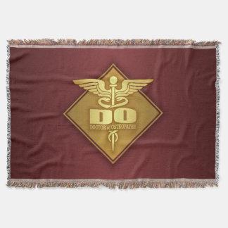 DO (gold)(diamond) Throw Blanket