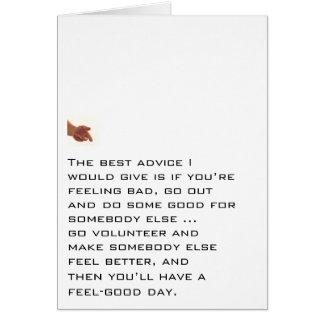 Do Good For Somebody Else Card