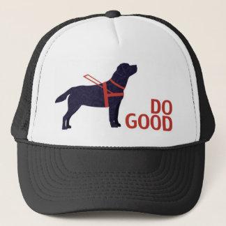 Do Good - Service Dog - Black Lab Trucker Hat