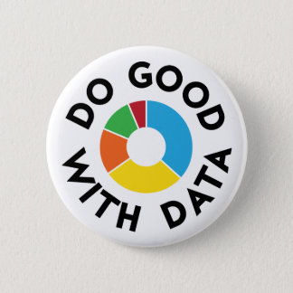 Do Good With Data Badge Button