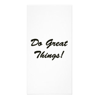 Do Great Things Card