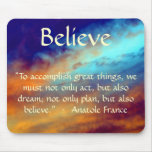 Do Great Things! Mousepad