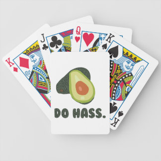 Do Hass Bicycle Playing Cards
