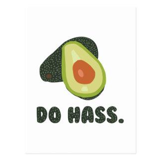 Do Hass Postcard