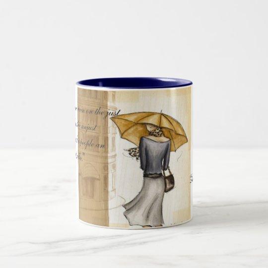 Do have Your Umbrella Two-Tone Coffee Mug