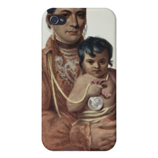 Do-Hon-Go, an Osage Woman Cover For iPhone 4