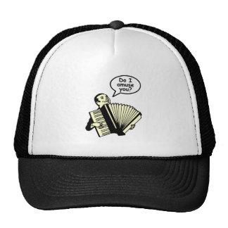 Do I amuse you? (Accordion) Trucker Hat