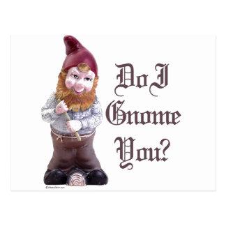 Do I Gnome you Postcard