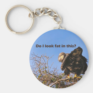 """""""Do I Look Fat In This"""" Eagle Key Chains"""