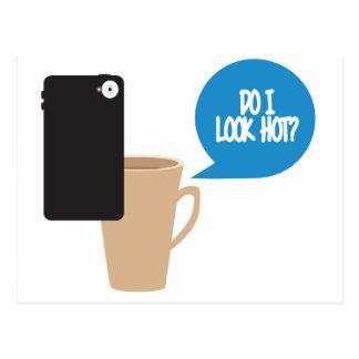 Do I Look hot? Mug Selfie Postcard