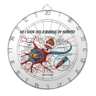 Do I Look Like A Bundle Of Nerves? Neuron Synapse Dartboard