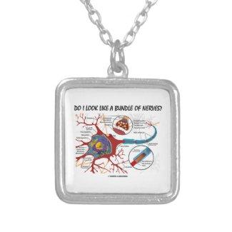 Do I Look Like A Bundle Of Nerves? Neuron Synapse Necklace