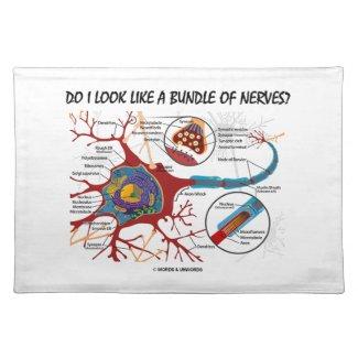 Do I Look Like A Bundle Of Nerves? Neuron Synapse Place Mats