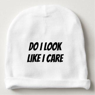 Do I Look Like I Care Beanie Hat