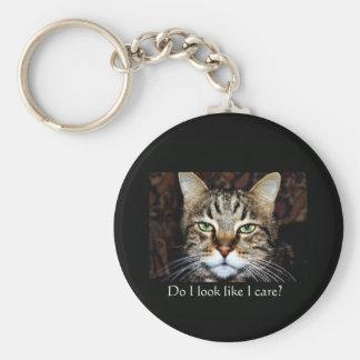 Do I look like I care? Keychain