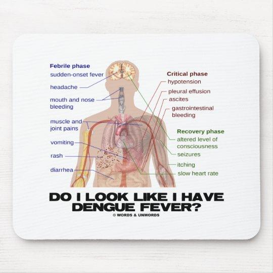 Do I Look Like I Have Dengue Fever? (Anatomy) Mouse Pad