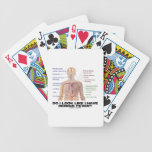 Do I Look Like I Have Dengue Fever? (Anatomy) Bicycle Playing Cards