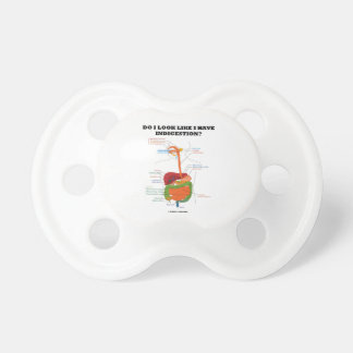 Do I Look Like I Have Indigestion? (Medical Humor) Pacifier