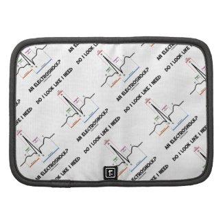 Do I Look Like I Need An Electroshock? EKG ECG Organizer