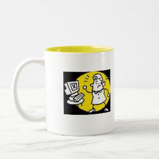 Do I look like I've had enough coffee... Two-Tone Coffee Mug