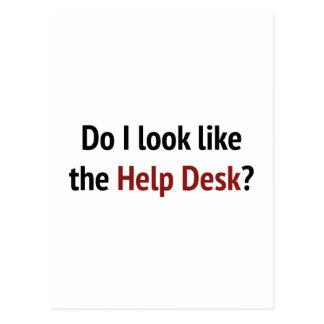 Do I Look Like The Help Desk? Postcard