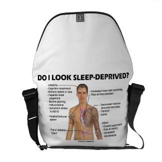 Do I Look Sleep-Deprived? (Physiology Humor) Messenger Bag