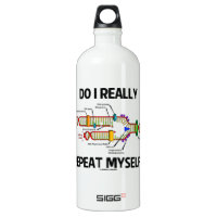Do I Really Repeat Myself (DNA Replication) SIGG Traveler 1.0L Water Bottle