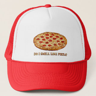 Do I Smell Like PIZZA-Clothes ONLY Trucker Hat