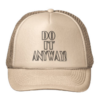 Do It Anyway! Mesh Hat