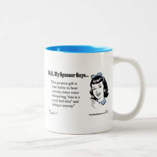 Do It Anyway Two-Tone Coffee Mug