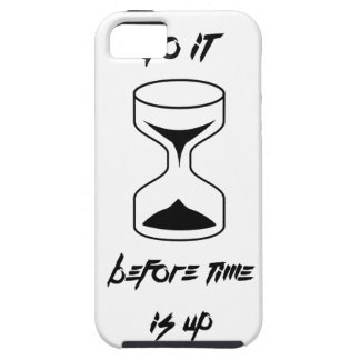 Do it before time is up iPhone SE/5/5s case