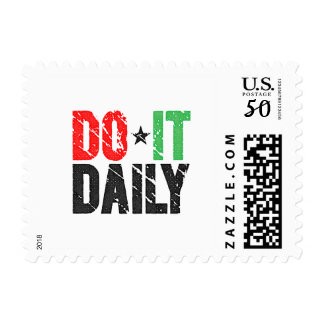 Do It Daily | Vintage Look Postage