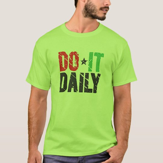 Do It Daily | Vintage Look T-Shirt